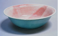 link to turquoise and pink bowl